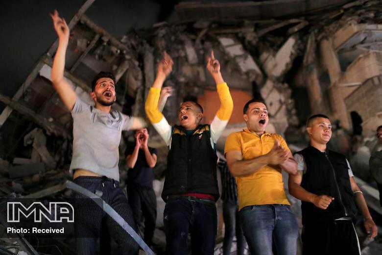 آرامش در غزه پس از آتشبس