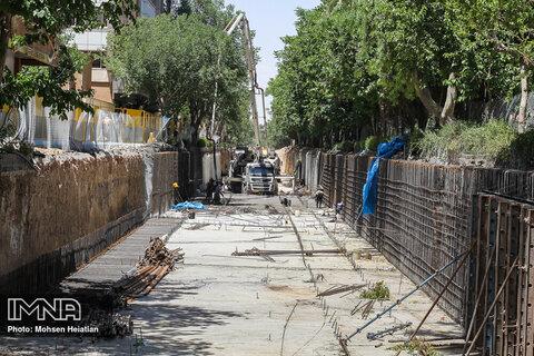 افتتاح دسترسی شرقی زیرگذر گلوبندک تهران در تابستان ۱۴۰۰