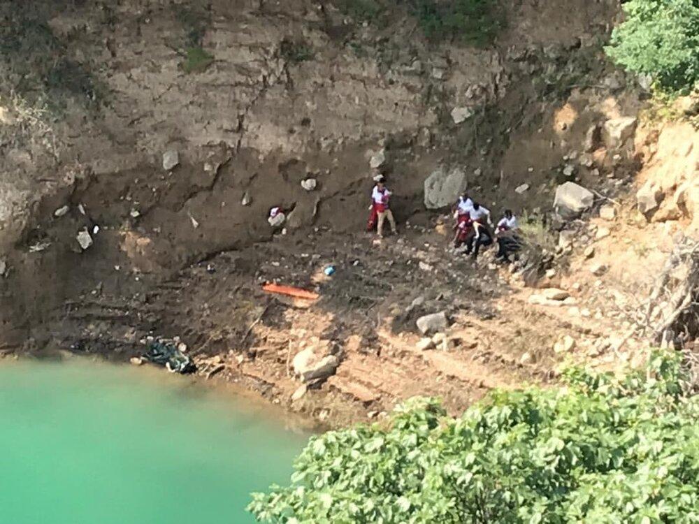 کشف جسد یک مرد در کنار دریاچه سد سلیمان + عکس
