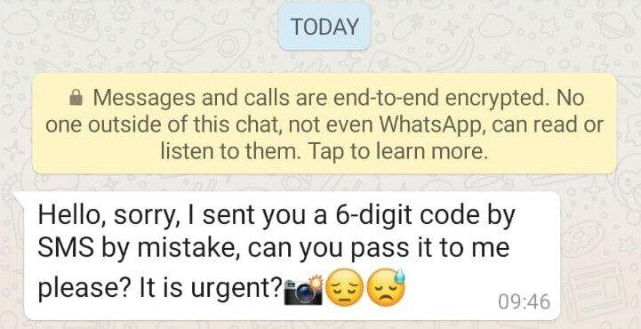 هکشدن در واتساپ 