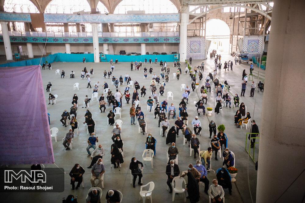 اضافه شدن یک مرکز تجمعی واکسیناسیون در اصفهان