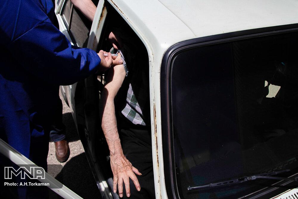 واکسیناسیون کرونا در همدان