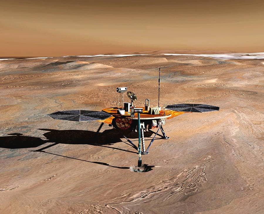 کاوشگر فینیکس در چنین روزی روی مریخ فرود آمد