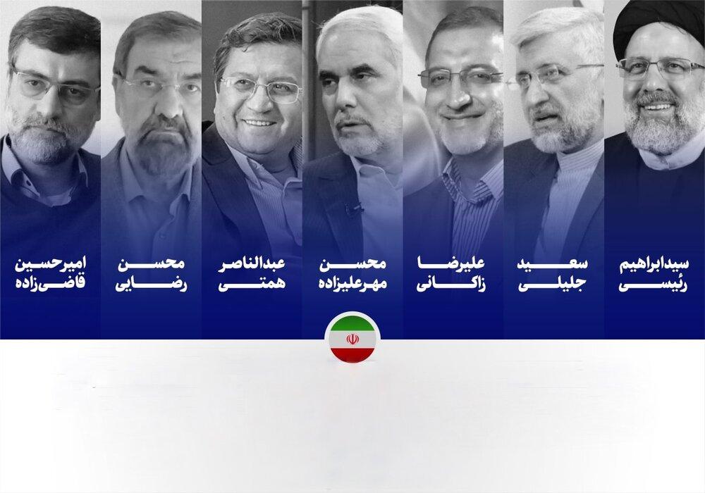 بیوگرافی و سوابق کاندیداهای ریاست جمهوری