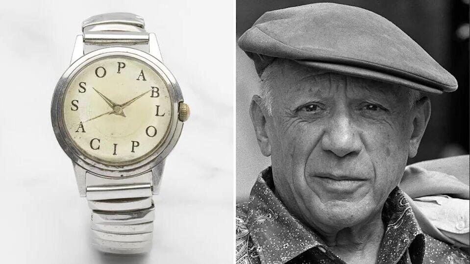 ساعت مچی پیکاسو ۲۶۷ هزار دلار چکش خورد