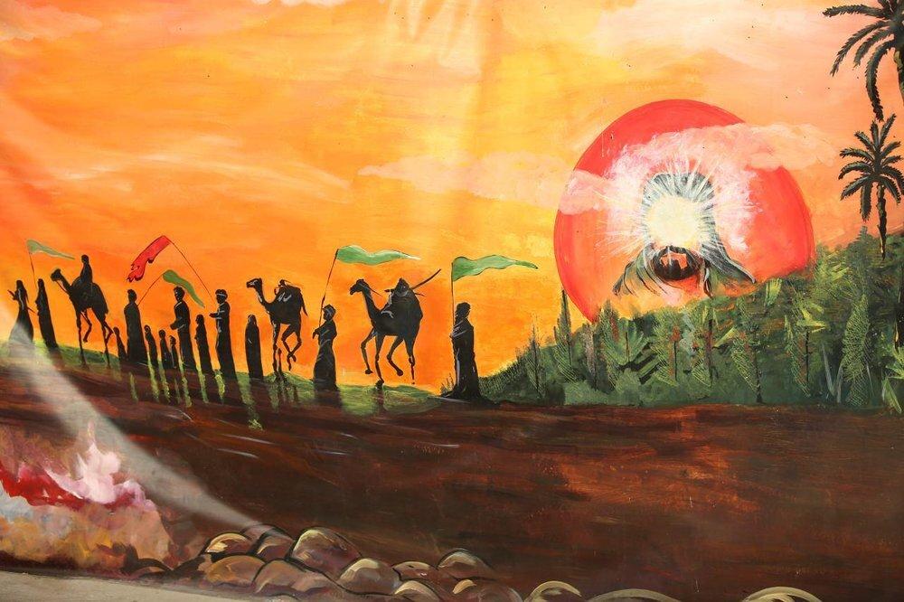 مهرواره بین المللی نقاشی اربعین تمدید شد