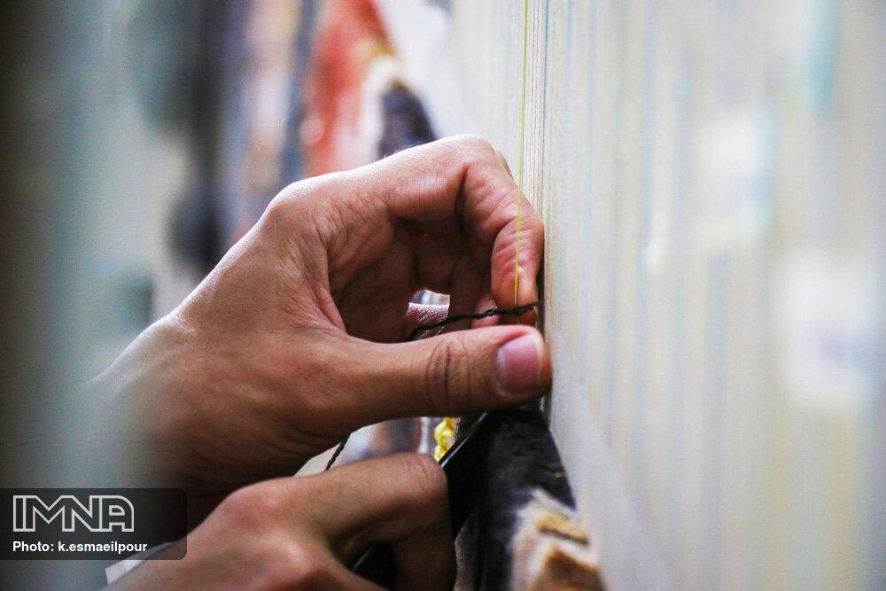 بازار جهانی فرش دستباف در تسخیر ایران