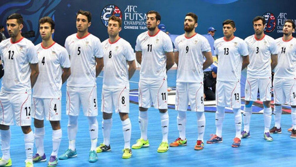 اولین تمرین تیم ملی فوتسال برگزار شد