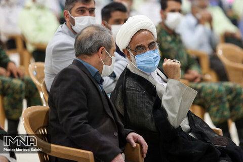 مراسم چهلمین روز شهادت سردار حجازی
