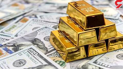 آخرین قیمت طلا، سکه و دلار تا پیش از امروز ۲۱ خرداد