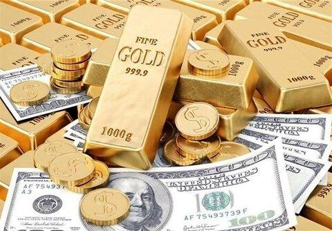 آخرین قیمت طلا، سکه و دلار تا پیش از امروز ۲۶ تیر