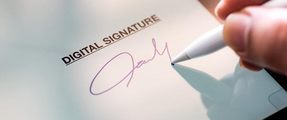 امضای الکترونیکی روی اپلیکیشن دولت همراه فعال شد