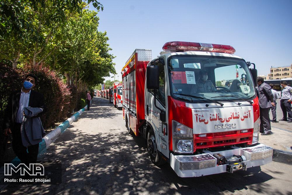 کسب مقام نخست توسط سازمان آتشنشانی شیراز در ارزیابی عملکرد سال ۱۳۹۹