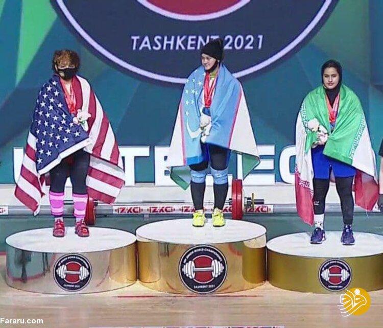 تاریخسازی دختر وزنهبردار ایرانی + فیلم