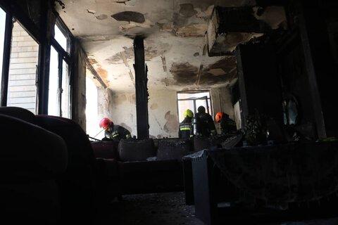 انفجار یک خانه و آتشگرفتن مغازه حاصل بی احتیاطی در کاشان