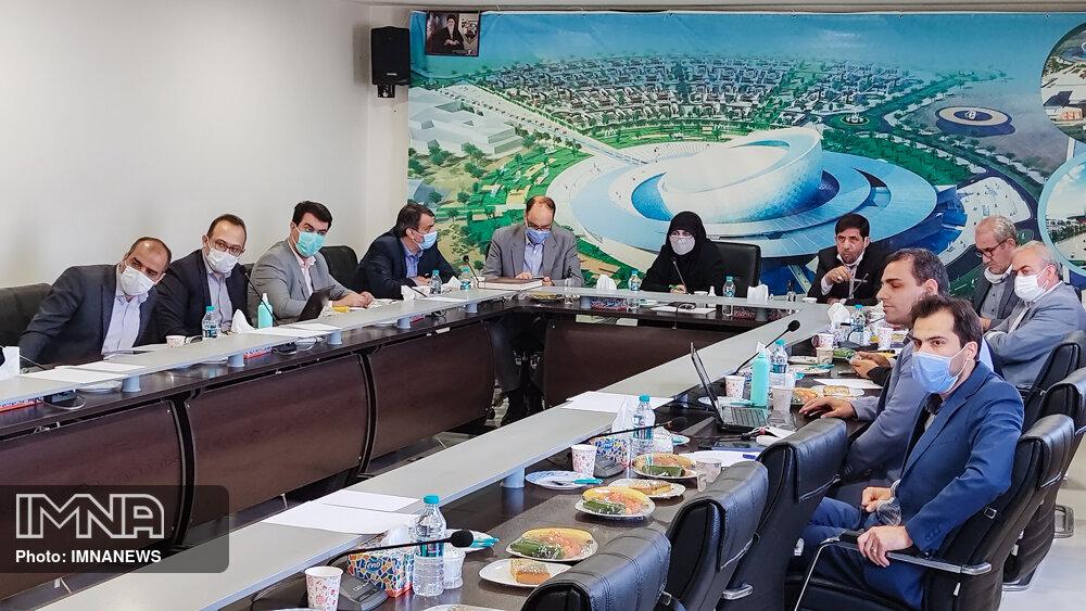 جلسه کمیسیون عمران شورای شهر اصفهان