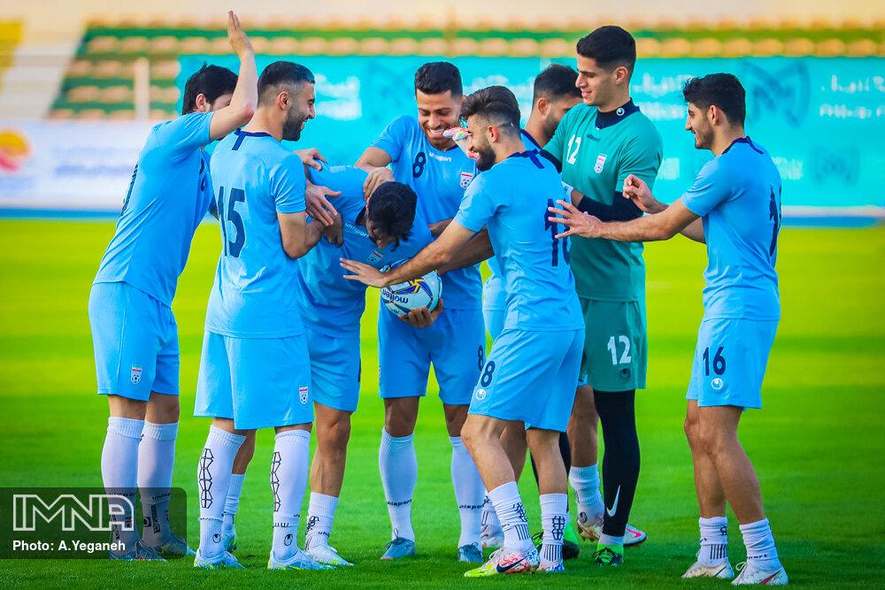 اردوی تیم ملی فوتبال در کیش
