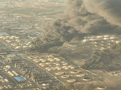 توضیحات مدیرعامل پالایشگاه نفت تهران در مورد آتش سوزی