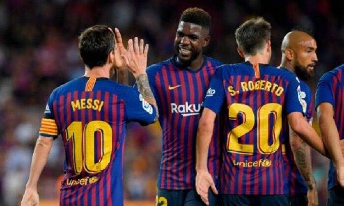 همه برای یکی در بارسلونا!