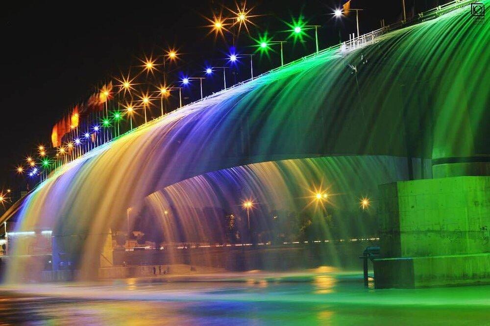 زیباسازی شهر شبهای روشن