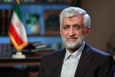 جلیلی : کشور نباید معطل انتخابات یک کشور دیگر یا تحریمها شود