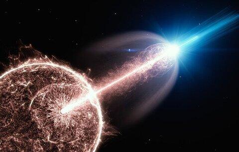بزرگترین انفجار کیهانی توسط چندین تلسکوپ ثبت شد