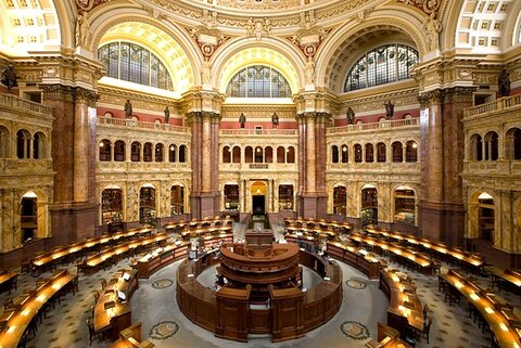 گشتی در بزرگترین کتابخانه جهان