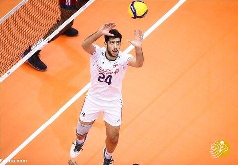 یک بازیکن جدید به تیم ملی والیبال ایران اضافه شد