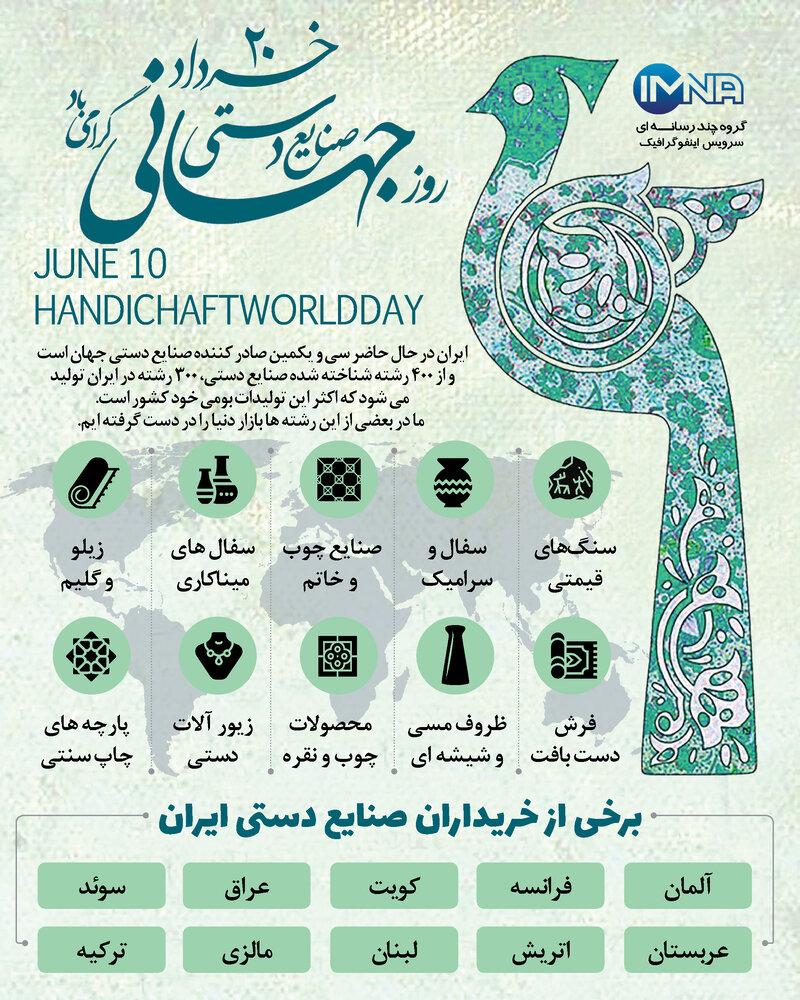 روز جهانی صنایع دستی ۱۴۰۰ + تاریخچه و ویژگی صنایع دستی