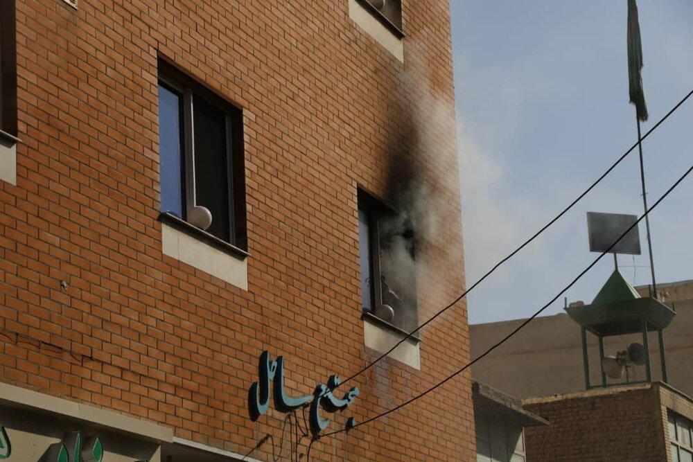 آتش سوزیها مانیتور میشود