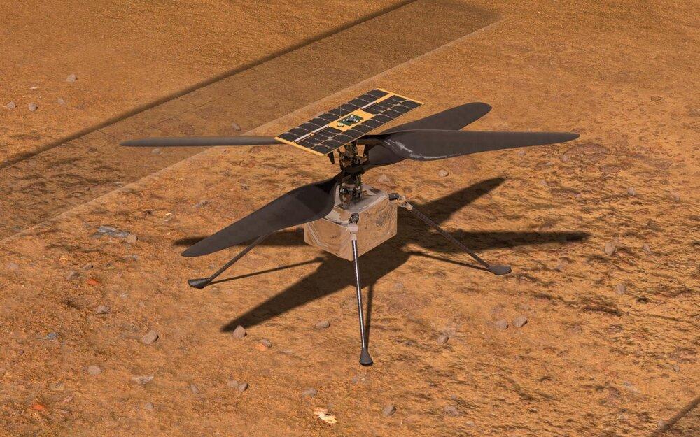 """""""نبوغ"""" در تدارک هشتمین پرواز در مریخ"""