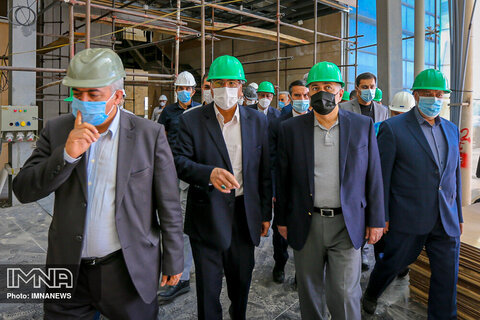 بازدید وزیر امور خارجه از سالن اجلاس سران
