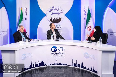 پخش زنده: مناظره انتخاباتی شیرین طغیانی و محمد نورصالحی