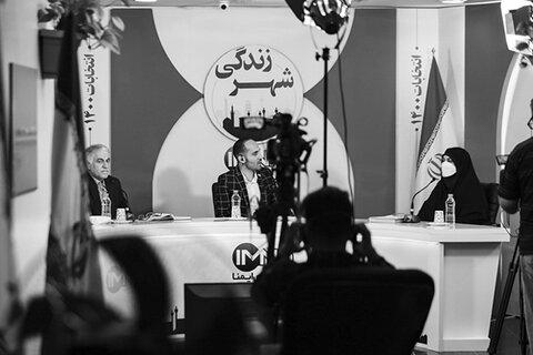 مناظره انتخاباتی شیرین طغیانی و محمد نورصالحی برگزار شد