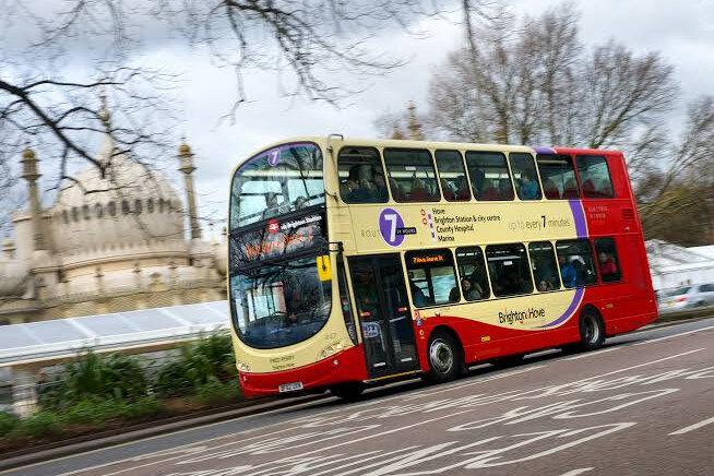 بازگشایی حملونقل عمومی در برایتون