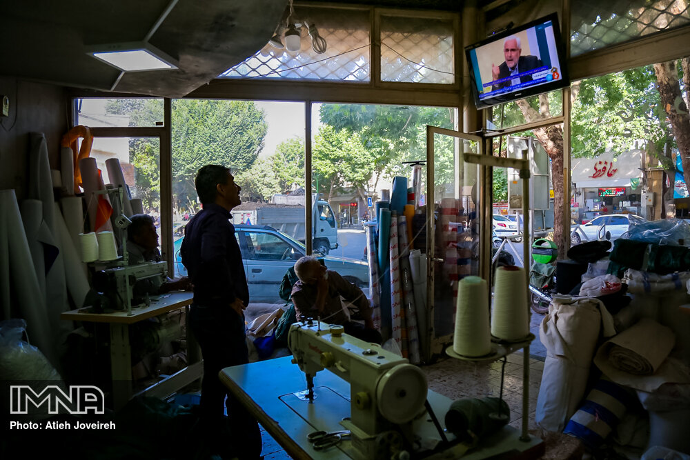 تماشای سومین مناظره انتخابات ریاست جمهوری