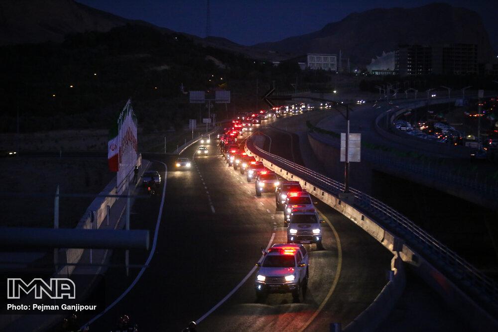 تاثیر احداث رینگ چهارم ترافیکی بر میزان مصرف سوخت و سرعت حرکت خودروها