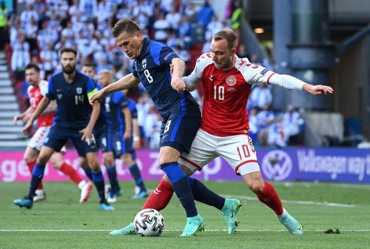 دانمارک صفر- فنلاند یک / شب تلخ دانمارک با شکست تکمیل شد