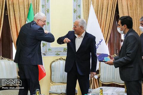 دیدار شهردار اصفهان با سرکنسول روسیه