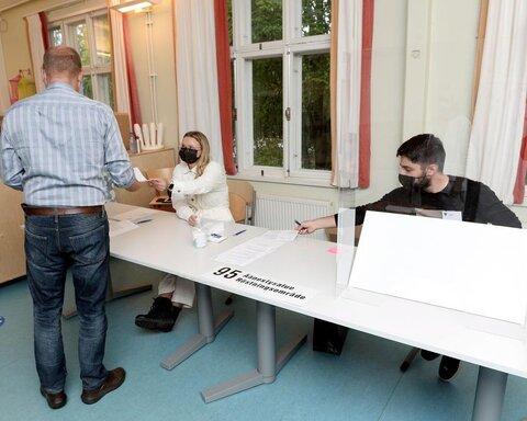 نتایج اولیه انتخابات شهرداری در فنلاند
