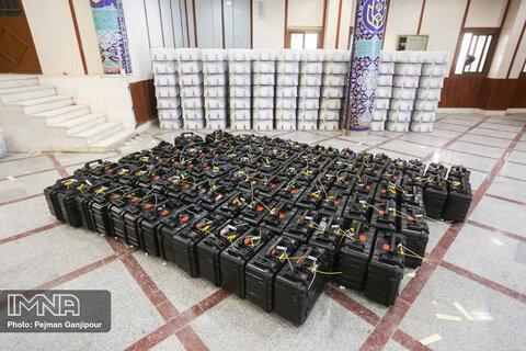 آغاز توزیع اقلام انتخاباتی در استان