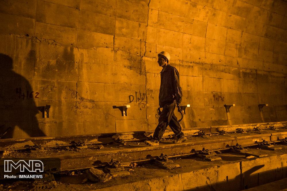 ثبت رکورد حفاری تونل مترو با ۴۵۰ متر در یک ماه