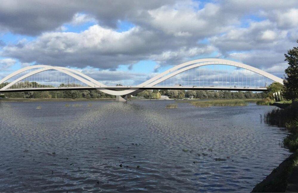 زیباسازی پارنوی استونی با احداث پل قو