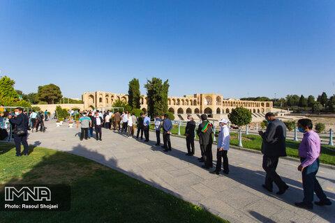 مسئولان استان اصفهان در کدام شعبهها رای دادند؟