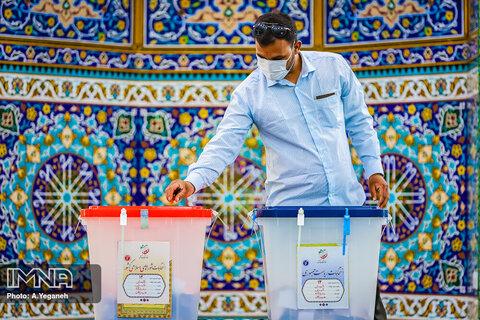 مشارکت  ۸۱ درصدی واجدان شرایط رأی در بویین میاندشت