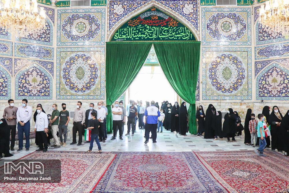 انتخابات ۱۴۰۰- حسینیه رضوی اصفهان