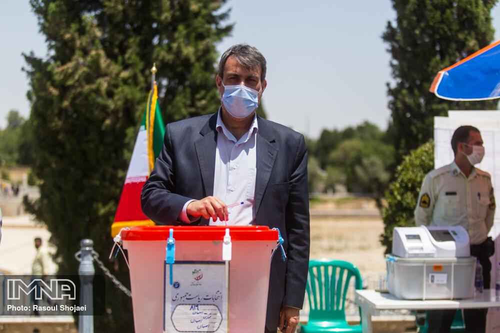 کدامیک از مسئولان اصفهان تا کنون رای دادهاند؟
