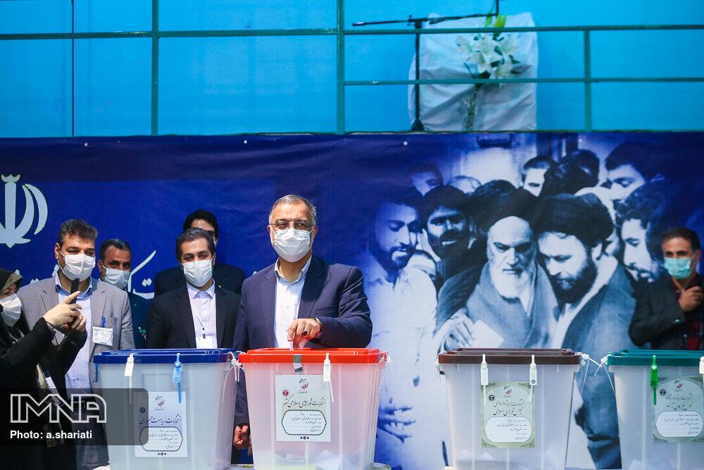 انتخابات ۱۴۰۰- حسینیه جماران