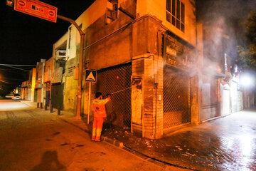 خسارت آثار تبلیغات انتخاباتی به سیما و منظر شهری آستارا