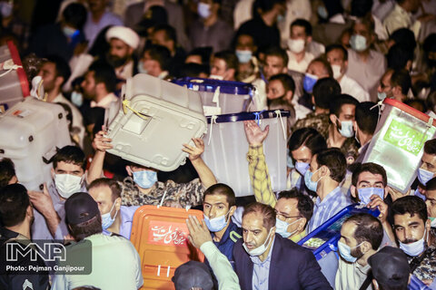 Vote counting continues in Iran